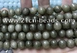 CCN5773 15 inches 10mm faceted round candy jade beads