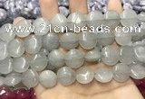 CCN5860 15 inches 15mm flat round candy jade beads Wholesale