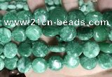 CCN5909 15 inches 15mm flat round candy jade beads Wholesale