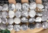 CCN5915 15 inches 15mm flat round candy jade beads Wholesale