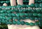 CCN5929 15 inches 12*12mm heart candy jade beads Wholesale