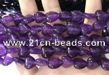CCN5930 15 inches 12*12mm heart candy jade beads Wholesale