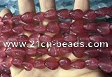 CCN5933 15 inches 12*12mm heart candy jade beads Wholesale