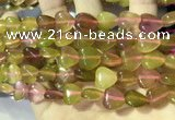 CCN5940 15 inches 12*12mm heart candy jade beads Wholesale
