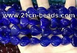 CCN5956 15 inches 14*14mm heart candy jade beads Wholesale