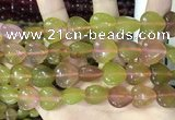 CCN5960 15 inches 14*14mm heart candy jade beads Wholesale