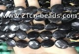 CCN5984 15 inches 13*18mm faceted oval candy jade beads