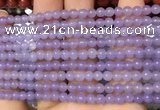 CCN6005 15.5 inches 4mm round candy jade beads Wholesale