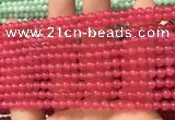CCN6007 15.5 inches 4mm round candy jade beads Wholesale