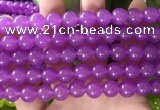 CCN6066 15.5 inches 10mm round candy jade beads Wholesale