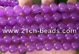 CCN6067 15.5 inches 12mm round candy jade beads Wholesale