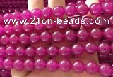 CCN6069 15.5 inches 8mm round candy jade beads Wholesale
