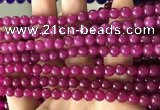 CCN6072 15.5 inches 6mm round candy jade beads Wholesale