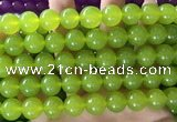 CCN6104 15.5 inches 12mm round candy jade beads Wholesale