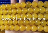 CCN6108 15.5 inches 12mm round candy jade beads Wholesale
