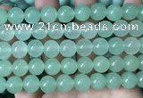 CCN6131 15.5 inches 10mm round candy jade beads Wholesale
