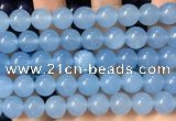 CCN6148 15.5 inches 12mm round candy jade beads Wholesale