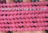 CCN6153 15.5 inches 6mm round candy jade beads Wholesale