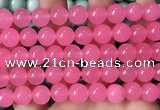 CCN6156 15.5 inches 12mm round candy jade beads Wholesale