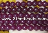CCN6174 15.5 inches 12mm round candy jade beads Wholesale
