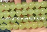 CCN6181 15.5 inches 14mm round candy jade beads Wholesale