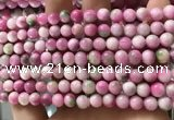CCN6187 15.5 inches 6mm round candy jade beads Wholesale