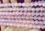 CCN6305 15.5 inches 8mm faceted round candy jade beads Wholesale