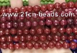 CCN6321 15.5 inches 8mm faceted round candy jade beads Wholesale