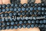 CCN6343 6mm, 8mm, 10mm, 12mm & 14mm faceted round candy jade beads