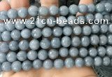 CCN6357 6mm, 8mm, 10mm, 12mm & 14mm faceted round candy jade beads