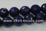 CCN765 15.5 inches 4mm faceted round candy jade beads wholesale