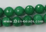 CCN899 15.5 inches 20mm faceted round candy jade beads