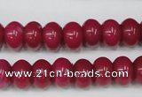 CCN93 15.5 inches 8*12mm rondelle candy jade beads wholesale