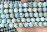 CCO364 15.5 inches 12mm round natural chrysotine gemstone beads