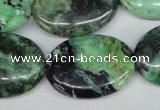 CCO38 15.5 inches 22*30mm oval natural chrysotine beads
