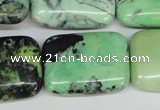 CCO46 15.5 inches 22*30mm rectangle natural chrysotine beads