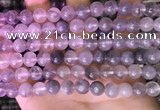 CCQ590 15.5 inches 8mm round cloudy quartz beads wholesale