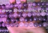 CCQ591 15.5 inches 10mm round cloudy quartz beads wholesale