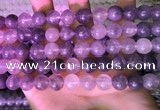 CCQ592 15.5 inches 12mm round cloudy quartz beads wholesale