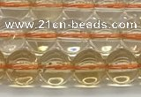 CCR345 15.5 inches 6mm round natural citrine beads wholesale