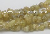 CCR84 15.5 inches 7mm chip citrine gemstone beads wholesale