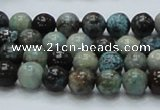CCS01 15.5 inches 8mm round natural chrysocolla gemstone beads