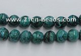 CCS202 15.5 inches 6mm round natural Chinese chrysocolla beads