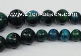 CCS410 15.5 inches 6mm - 14mm round dyed chrysocolla gemstone beads