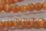 CCT1143 15 inches 3mm round tiny cats eye beads wholesale