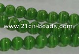 CCT1226 15 inches 4mm round cats eye beads wholesale