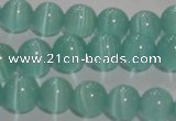 CCT1285 15 inches 5mm round cats eye beads wholesale