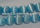 CCT1287 15 inches 5mm round cats eye beads wholesale