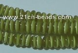 CCT211 15 inches 2*4mm rondelle cats eye beads wholesale