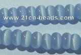 CCT238 15 inches 3*6mm rondelle cats eye beads wholesale